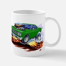 Roadrunner Green Car Mug