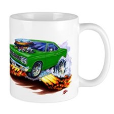 Roadrunner Green Car Mug