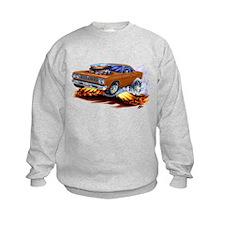 Roadrunner Brown Car Sweatshirt