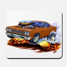Roadrunner Brown Car Mousepad