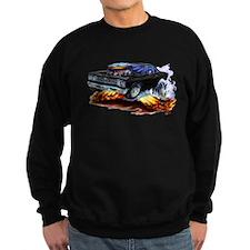 Roadrunner Black Car Sweatshirt