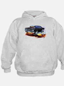Roadrunner Black Car Hoodie