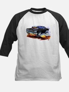 Roadrunner Black Car Kids Baseball Jersey