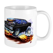 Roadrunner Black Car Mug
