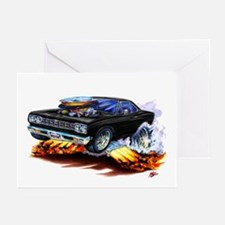 Roadrunner Black Car Greeting Cards (Pk of 10)