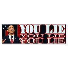 You Lie! Bumper Bumper Sticker