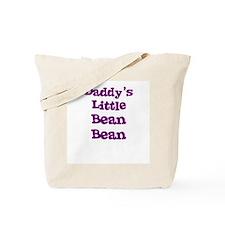 Daddy's Little Bean Bean Tote Bag