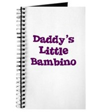 Daddy's Little Bambino Journal