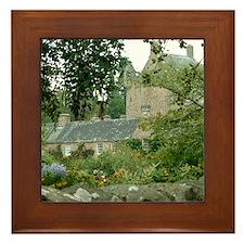 Cawdor Castle Scotland Framed Tile