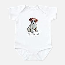 Jack Russell Shoes Infant Bodysuit