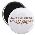 Save the Trees Magnet