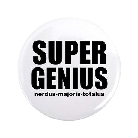 """Super Genius 3.5"""" Button"""
