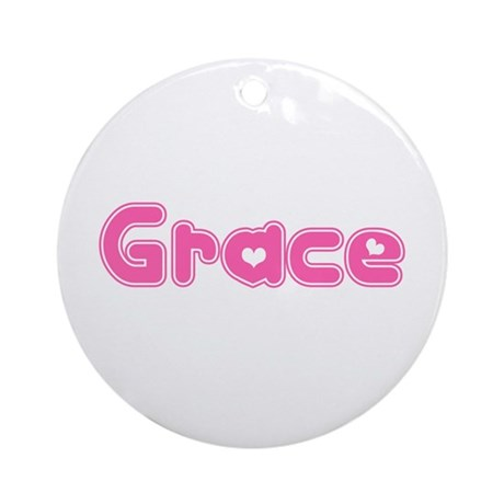"""Grace"" Ornament (Round)"