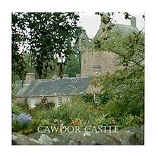 Cawdor Castle Tile Coaster