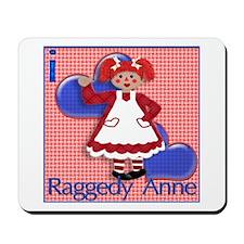 I Love Raggedy Anne Mousepad