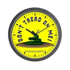 3D Gadsden Flag Wall Clock