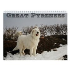 Great Pyrenees Calenda #9, 2015 Wall Calendar