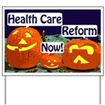 Pumpkins for Health Care Yard Sign