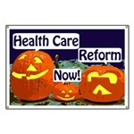 Pumpkins for Health Care Reform Banner