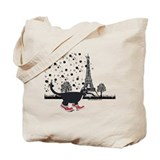 Red shoes Canvas Totes