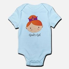 God's Gal Red-Head Infant Bodysuit