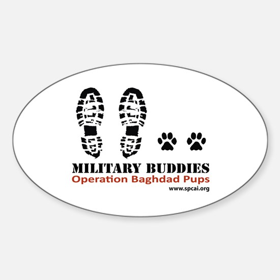 OBP Oval Decal