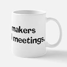 Cabinet makers enjoy board Mug