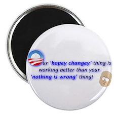 Unique Obama change Magnet