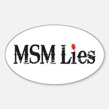 Main Stream Media Lies Decal