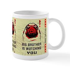 PUG- Big Brother is Watching YOU! Small Mug