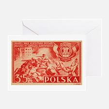 Polish Volunteers Greeting Card