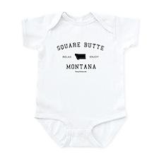 Square Butte, Montana (MT) Infant Bodysuit