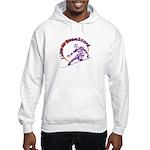 I Snowboard Hooded Sweatshirt
