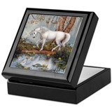 Unicorn Square Keepsake Boxes