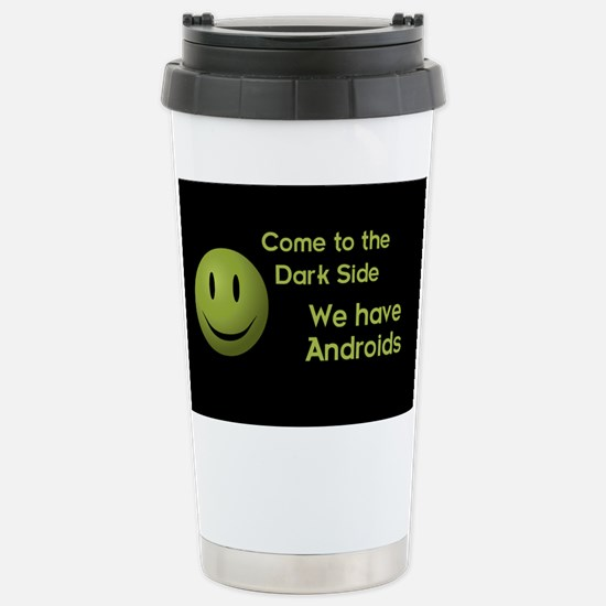 Android Stainless Steel Travel Mug