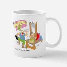 HOLD IT ... HE'S GOT I AND I Mug
