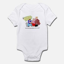... ANYTHING TO SAVE MONEY? Infant Bodysuit
