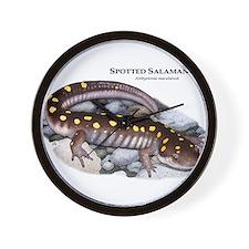 Spotted Salamander Wall Clock