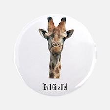"""Evil Giraffe 3.5"""" Button (100 pack)"""