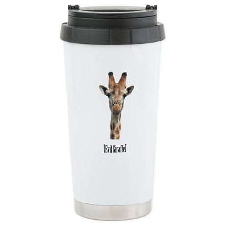 Evil Giraffe Stainless Steel Travel Mug