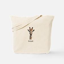 Evil Giraffe Tote Bag