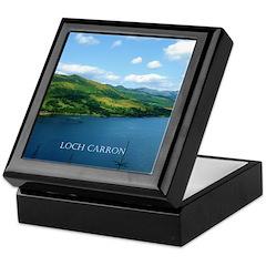 Loch Carron Scotland Keepsake Box