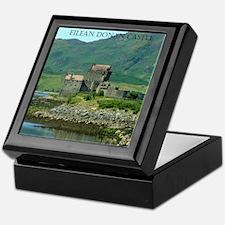 Eilean Donan Castle Keepsake Box
