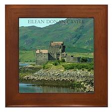 Eilean Donan Castle Framed Tile
