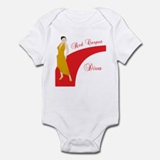 Red Carpet Diva Infant Bodysuit