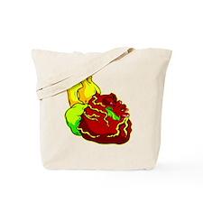 Real Heart Tattoo Tote Bag