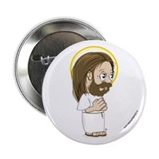 "Christian Turtle - Jesus 2.25"" Button"