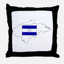 Honduras Pride Throw Pillow
