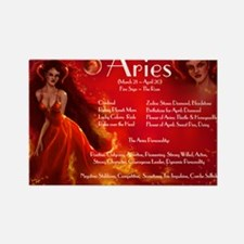 Goddess Aries Rectangle Magnet