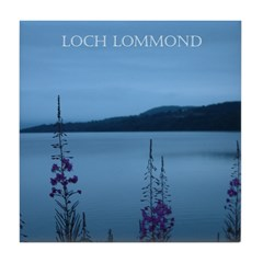 Loch Lommond Scotland Tile Coaster